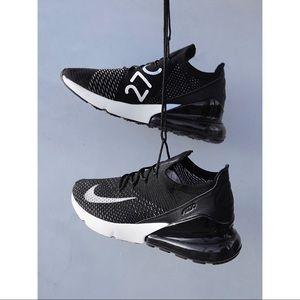 🔥$190 NIKE Air Max 270 Flyknit Running Shoes 7.5